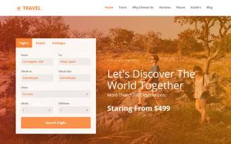 TravelBizz - Travel Agency HTML Tempalte
