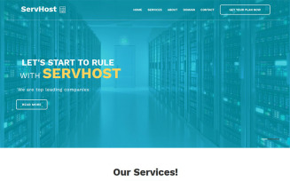 SerHost - Online Hosting HTML5 Template