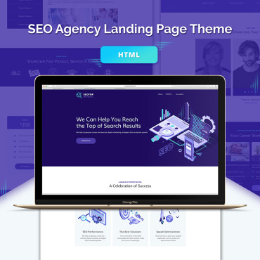 Preview image of SEO Agency HTML