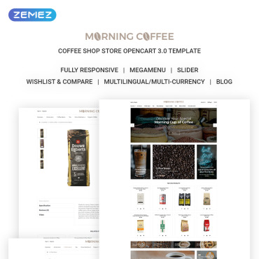 Preview image of Morning Coffee - Powerful Online Coffee Shop