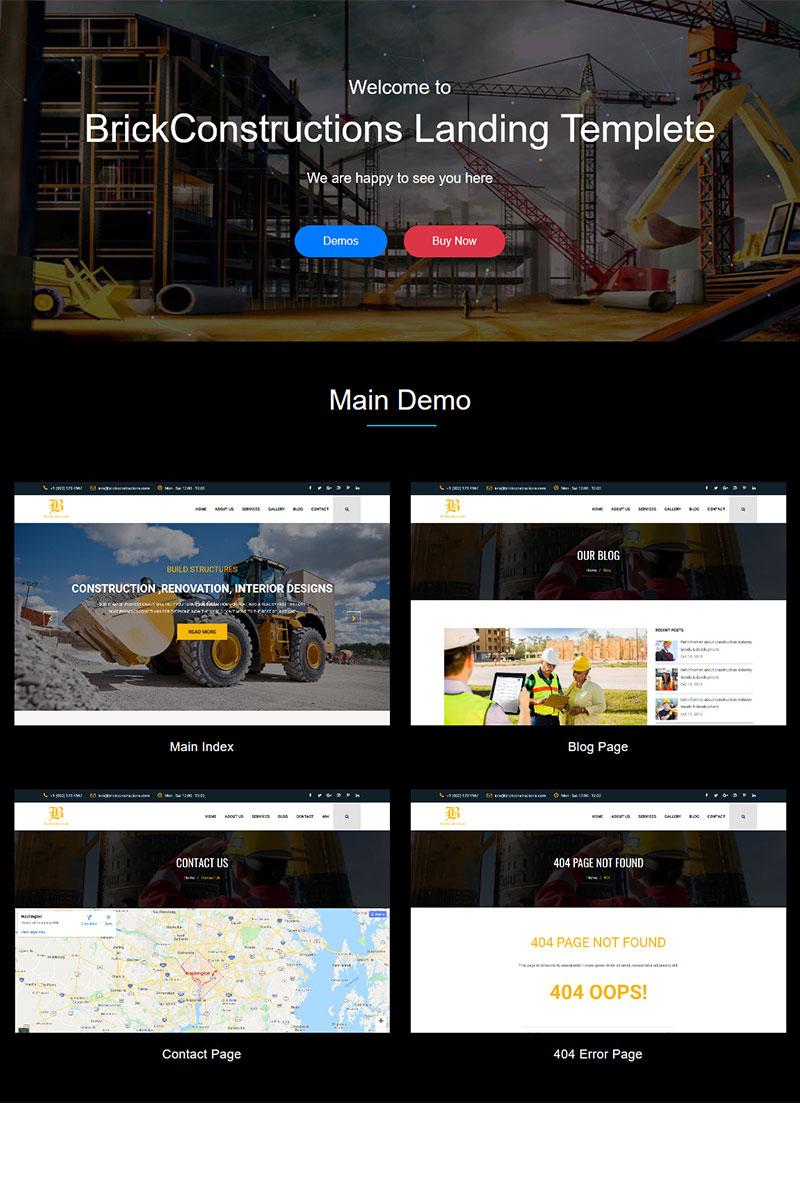 website design template 71881 company construction constructor contractor corporate industry metal painter plumber plumbing remodeling