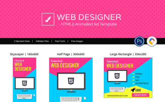 Professional Services | Web Design Ad