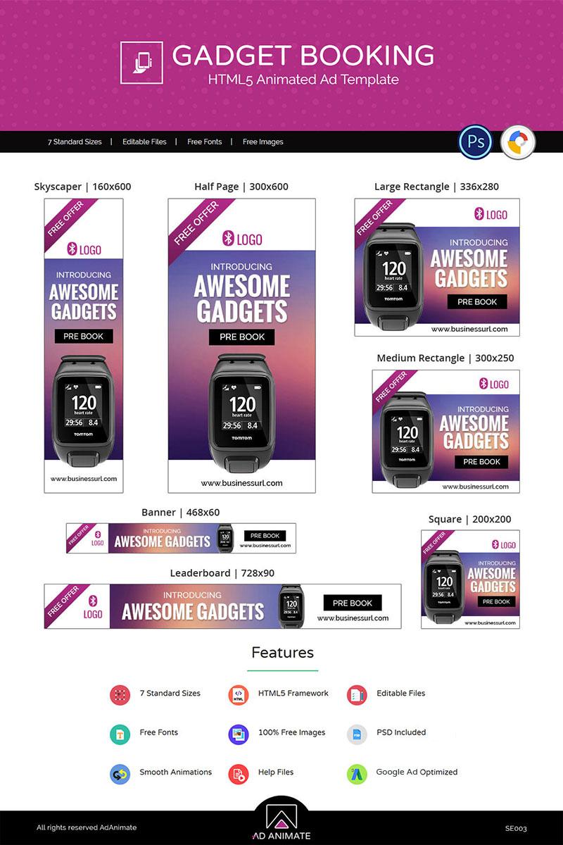 "Animated Banner namens ""Shopping & E-commerce | Fashion Accessories"" #71810 - Screenshot"