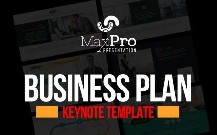 Business Plan Presentation - Keynote template Keynote Template