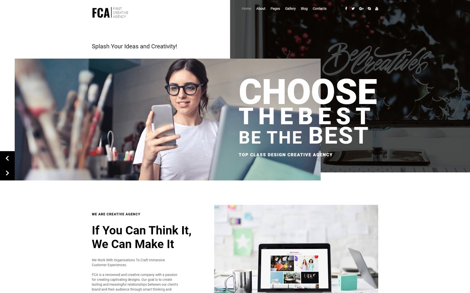 FCA-Creative Agency Joomla Template