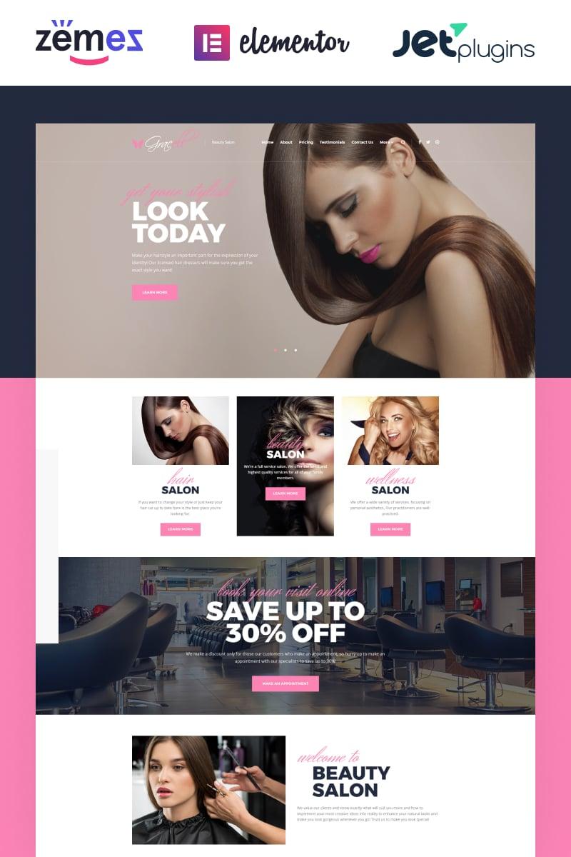 Gracell - Beauty Salon Elementor №71864