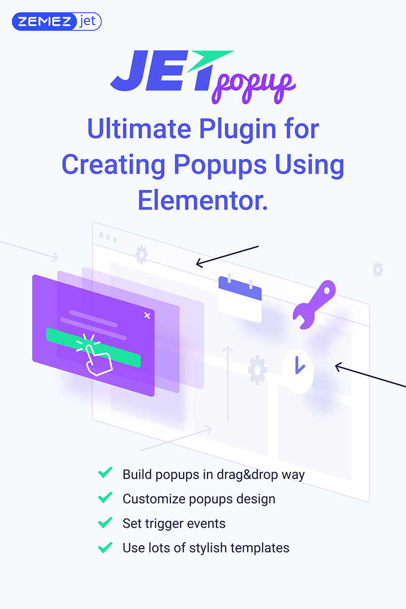 JetPopup - Popup Addon for Elementor Plugin WordPress №71831