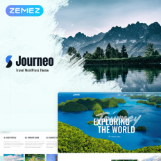 Wordpress Travel Portal Themes - Template Monster