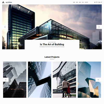 Local Architects Photo Gallery Template #71807