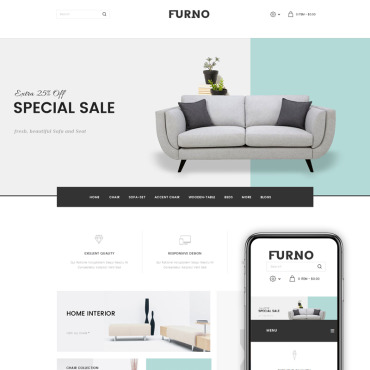 Preview image of Furno - Furniture Store