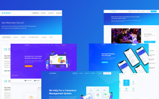 Bluebell - Software, Web App And Startup Tech Company WordPress theme