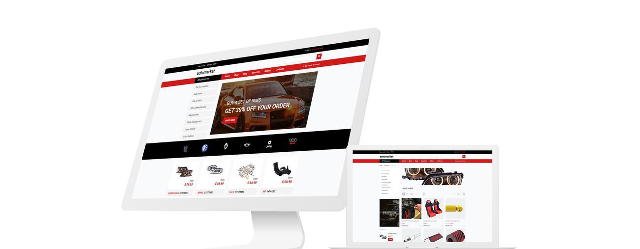 Best shopify themes Automarket - Strict Car Parts Online Store Shopify Theme