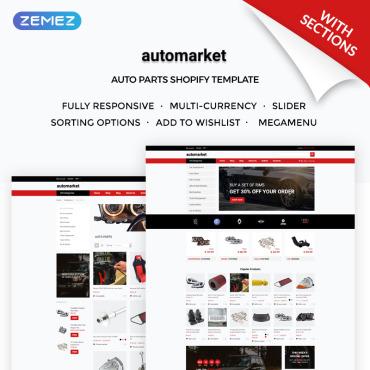 Купить  пофессиональные Shopify шаблоны. Купить шаблон #71948 и создать сайт.