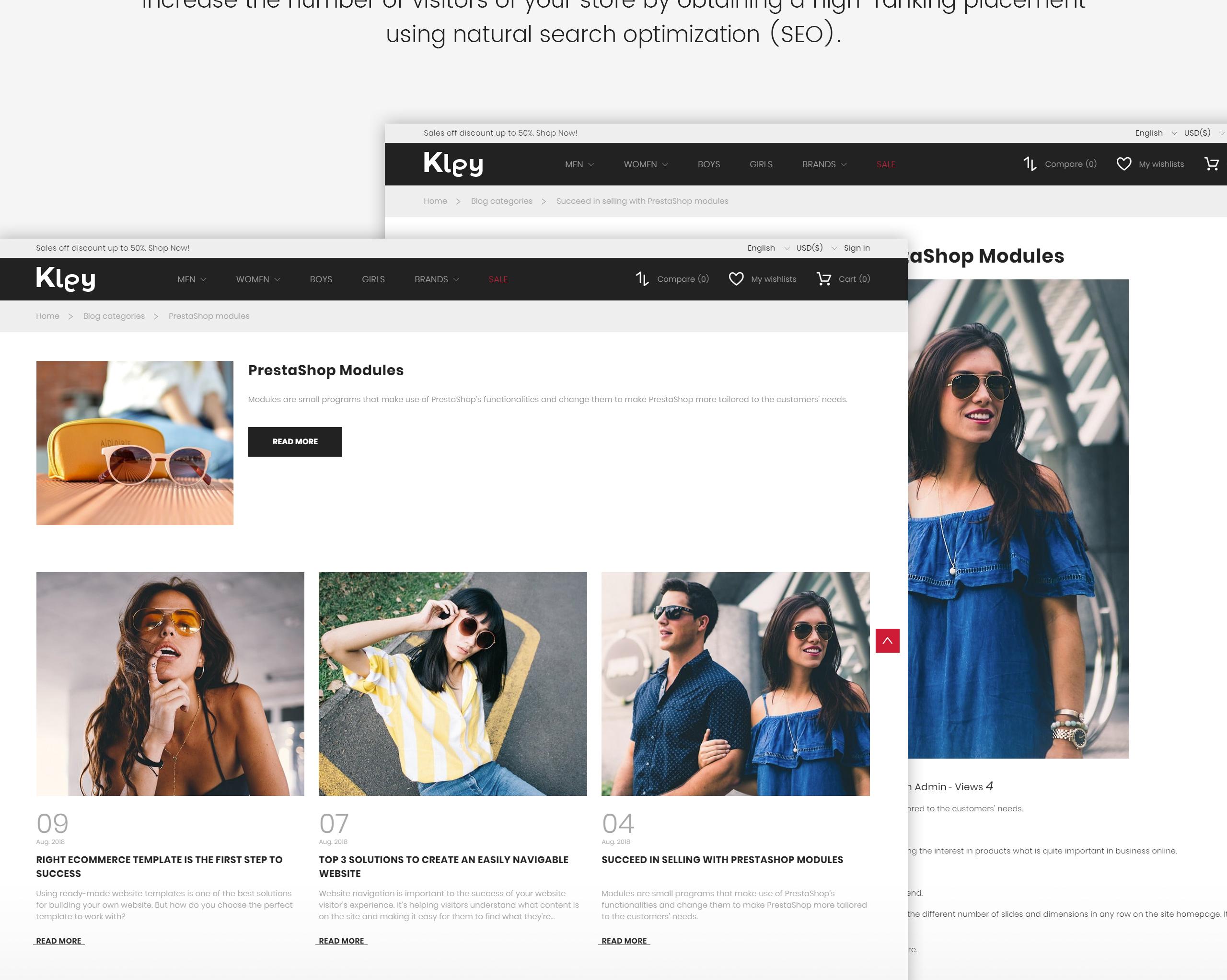 Website Design Template 71949 - eye