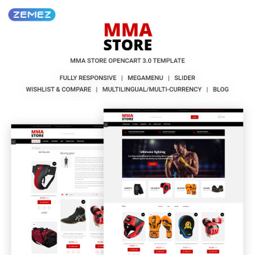 Preview image of MMA Store - Brutal MMA Sports Gear Online Store