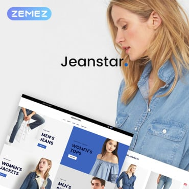 Preview image of Jeanstar - Clothes Store Elementor