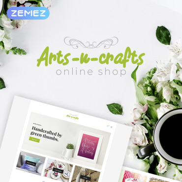 Preview image of Arts-n-crafts - Handmade Art Elementor