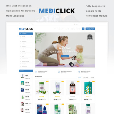 Preview image of Medi Click - Drugs Store