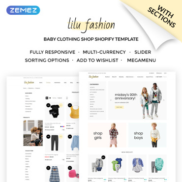 Preview image of Lilu Fashion - Baby Clothing