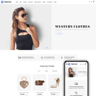 Preview image of Trend - Fashion Accessories Store