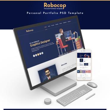 Preview image of Robocop - Personal Portfolio