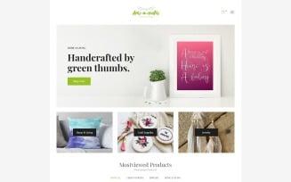 Arts-n-crafts - Handmade Art Elementor WooCommerce Theme