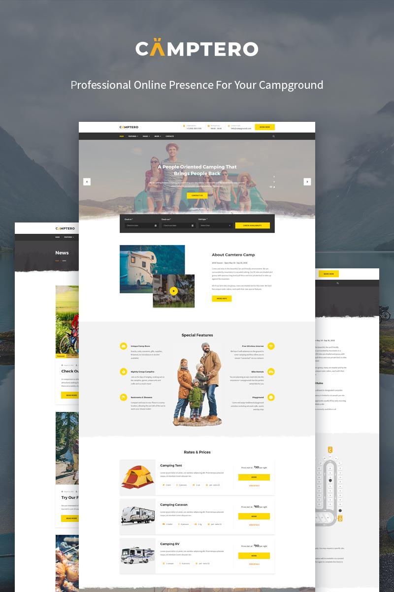 Camptero - Camping WordPress Theme