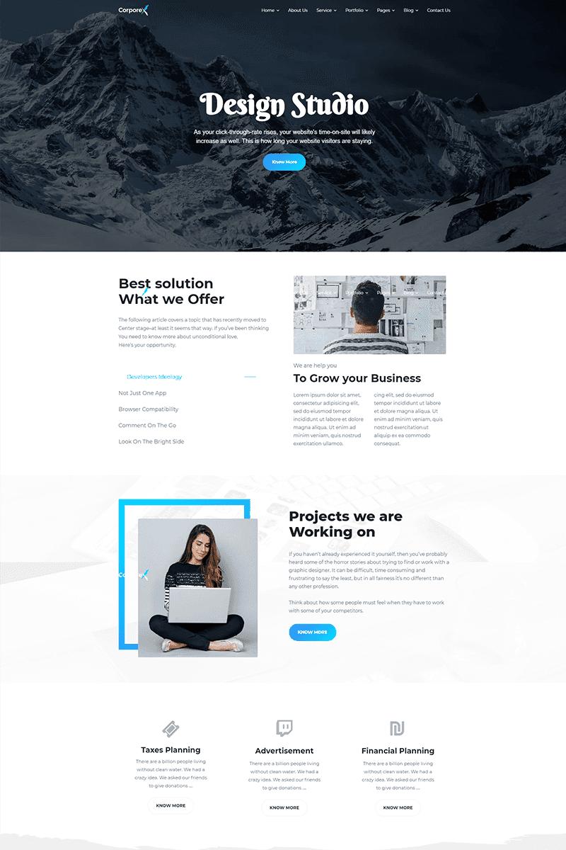 Corporex - Multipurpose Business Joomla Template