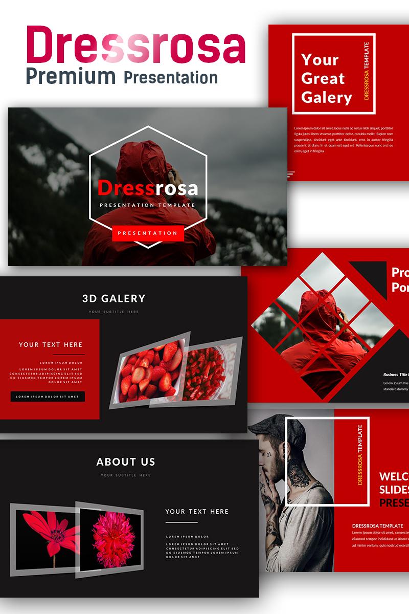 """""""Dressrosa Premium"""" modèle PowerPoint  #71929"""