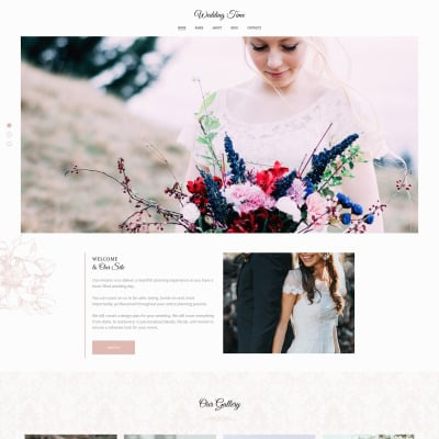 Wedding Time Photo Gallery Template #71918