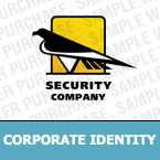 Security Corporate Identity Template 7205