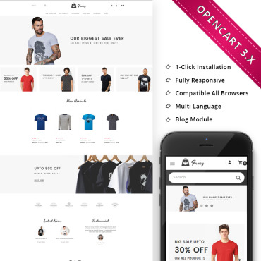 Preview image of Fancy Fasion Store Responsive