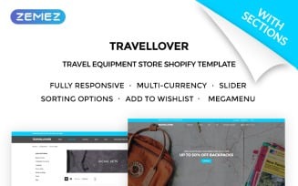 TravelLover - Travel Equipment Store Shopify Theme