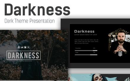 Darkness Presentation PowerPoint Template