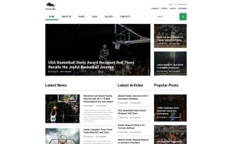 Black Bull - Laconic Sports News Joomla Template