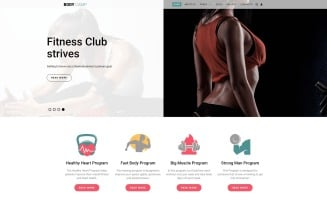 Body Camp - Fitness Joomla Template