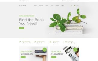 BOOKKA - Books Shop OpenCart Template
