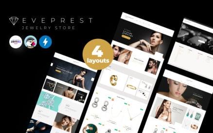 Eveprest Jewelry 1.7 - Jewelry Store PrestaShop Theme