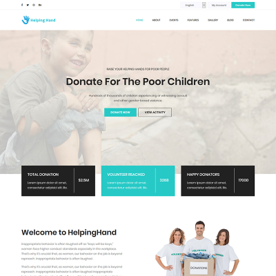 child charity templates templatemonster