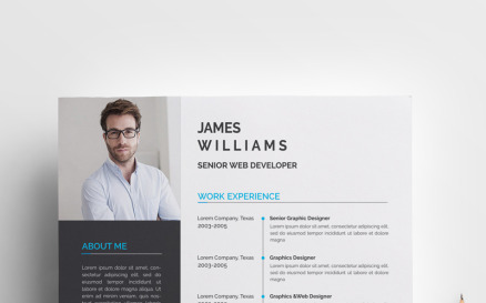 James Williams - Resume Template