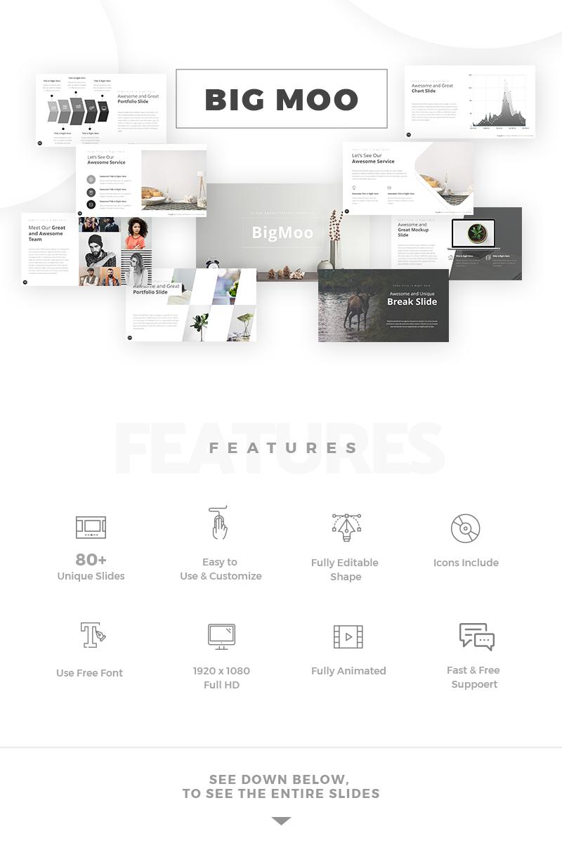 BigMoo Creative PowerPoint Template - screenshot