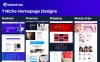 "Tema Moto CMS 3 Responsive #72222 ""Gravitas Multipurpose Business"" Screenshot grande"