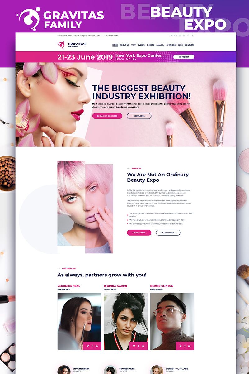 Gravitas - Beauty Expo №73127
