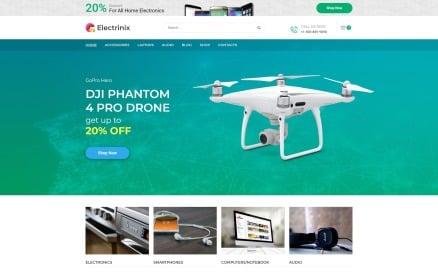 Electrinix - Electronics Shop Elementor WooCommerce Theme