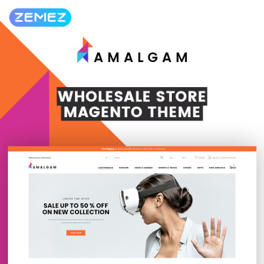 Купить  пофессиональные Magento темы. Купить шаблон #73230 и создать сайт.
