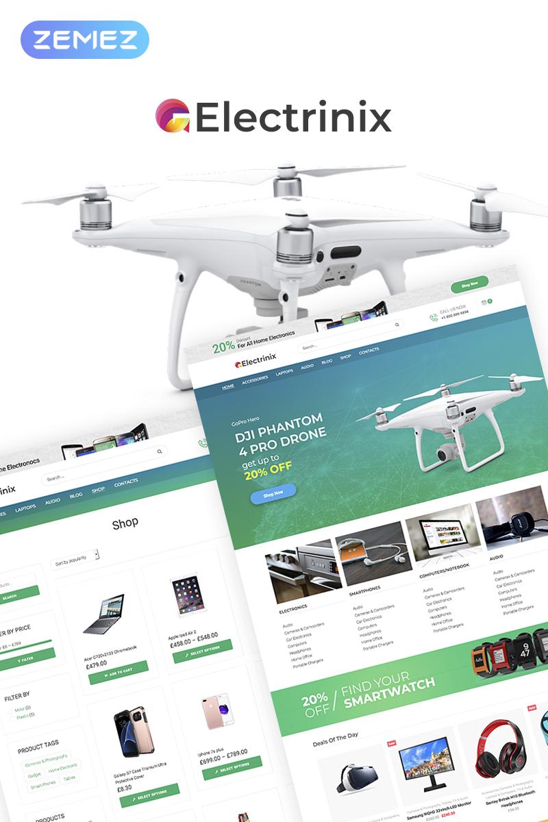Electrinix - Electronics Shop Elementor WooCommerce Theme - screenshot