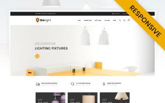 GoLight - Fancy Light Store OpenCart Template