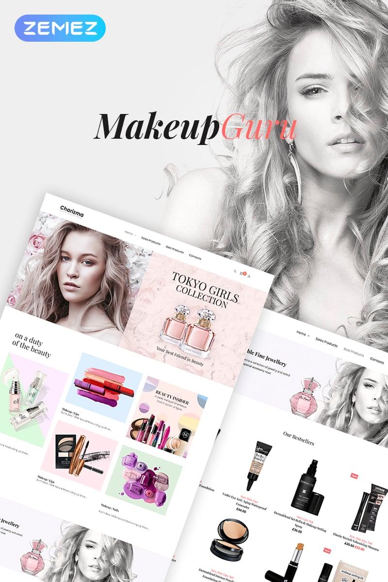 Responsive MakeupGuru - Cosmetic Store Elementor Woocommerce #73212