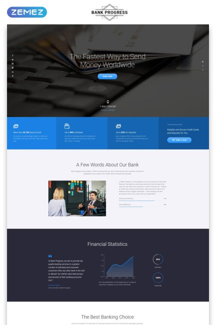 Website template 73338