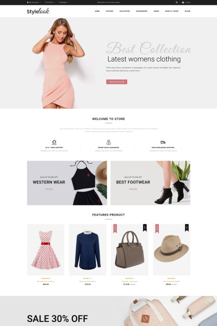Website template 73380